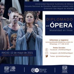 Pago Único: Diplomado en Ópera