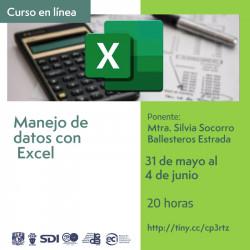 Manejo de datos con Excel