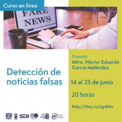 Detección de noticias falsas