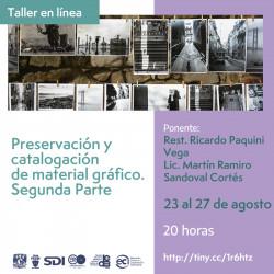 Preservación y catalogación...