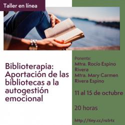 Biblioterapia: Aportación...
