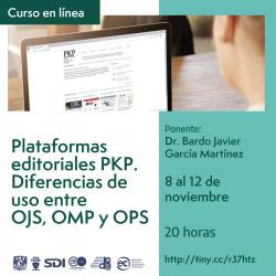 Plataformas editoriales...
