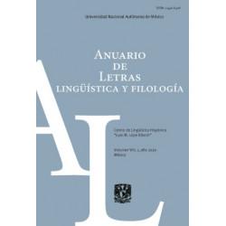 Anuario de Letras....