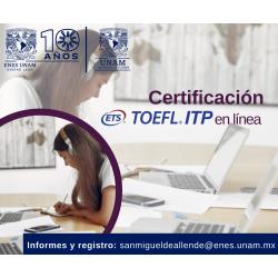 Examen TOEFL ITP (en línea)...