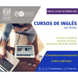 Examen de ubicación: Inglés...