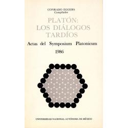 Platón: los diálogos tardíos